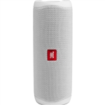 JBL Flip 5 Waterproof Portable Bluetooth Speaker (Steel White)