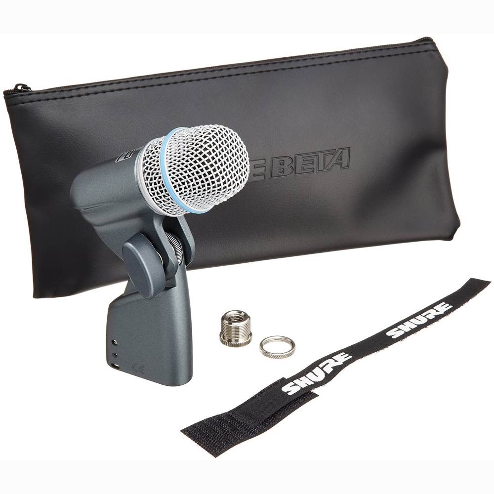 shure beta 56a supercardioid swivel mount dynamic microphone. Black Bedroom Furniture Sets. Home Design Ideas