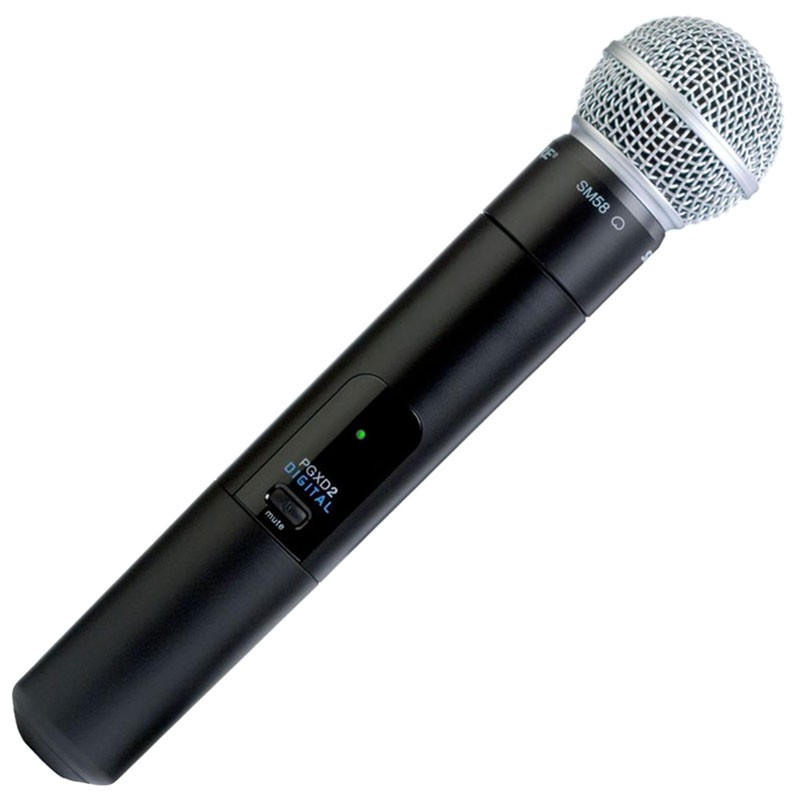 Shure Pgxd24 Sm58 X8 Wireless Microphones