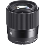 Sigma 30mm f/1.4 DC DN Contemporary for Sony E Mount