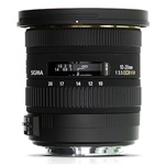 Sigma 10-20mm F3.5 EX DC HSM For Canon  DSLR Cameras