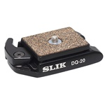Slik Quick Release Plate for DQ-20 Q.R Adapter SH-704E / AF-1100E Head Sprint Pro Tripod w/ 3-Way Head 618-740